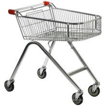 Carrinho de compras dobrável com carrinho de mão
