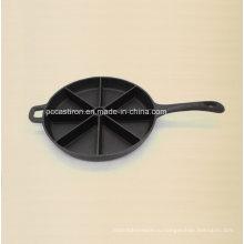 Предварительно смонтированный противень для выпечки чугуна