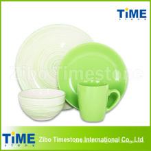 Nouvelle vaisselle en céramique en grès céramique