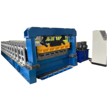 Good quality high speed 1450 mm coil width India cladding profile roofing sheet machine