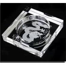 Cinzeiro De Vidro De Cristal De Gravura De Moda (JD-CA-914)