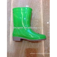 мода мультфильм ПВХ дети дождя ботинки
