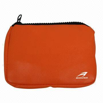 Coin Purse, Made of PU Leather, Measures 14 x 10 x 3cm