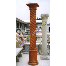 Stone Marble Granite Sandstone Hollow Roman Column Pillar (QCM019)