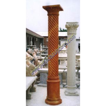 Stone Marble Granite Sandstone Hollow Roman Column Pillar (QCM019)