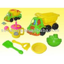 Brinquedos de praia de verão para crianças