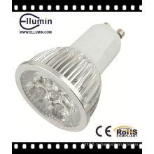 CE и RoHS высокой мощности Алюминиевый Сид 4W GU10 светодиодные лампы