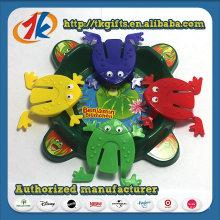Nouveau jeu de grenouille de sauts de plastique Jouets promotionnels pour garçons