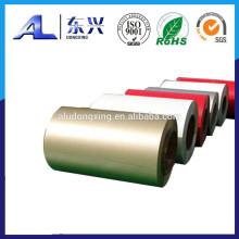 Bobina / tira de aluminio recubiertas