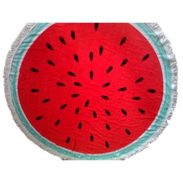 Große Frottee runde Strandtuch Mikrofaser