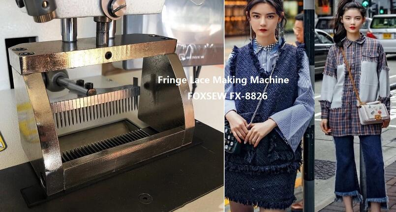 Fringe Lace Making Machine FOXSEW FX-8826 -2