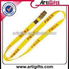 Adornos de cordón de nailon de color amarillo