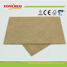 3,0 mm-6,0 mm dekorative geprägte Hartfaserplatte