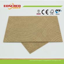 3.0mm-6.0mm Decorative Embossed Patterned Hardboard