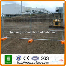 ISO9001 Hot zinc coated removable Temporary fence on sale (Shunxing Anping)