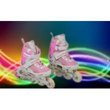 Pink Carton Kids Inline Skate