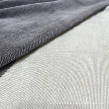 Tissu en velours côtelé Solid Cotton 21 en polyester