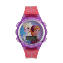 lcd watch for kids can custom cartoon and logo for gift and promotion