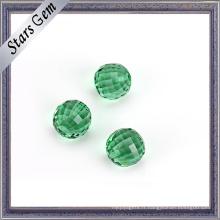 Nouveau produit à facettes coupe ronde boule de verre