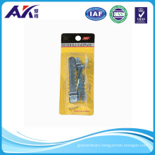 """Zinc Plated Sawtooth Hanger with Nails 6PCS of 1-1/2"""""""