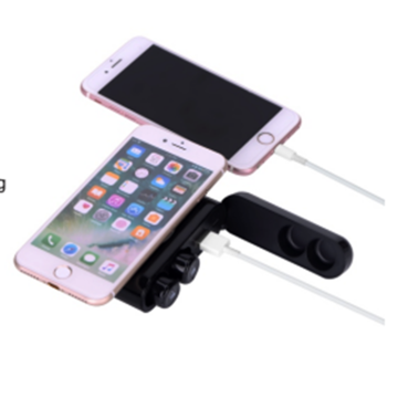 Wireless charging TWS power bank earphone