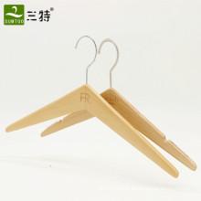 ganchos de roupa de madeira extravagantes personalizados