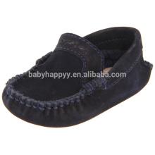 Kinder Flachsohle Leder Kleinkind Schuhe Baby Kleid Schuhe