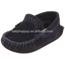 Kids flatsole leather toddler shoes baby dress shoes