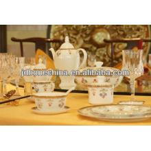 Tangshan duradero hueso china royal home diseño taza de café