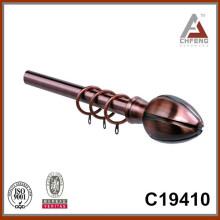 C19410 алюминий mordern занавес штанга finials, аксессуары для украшения занавеса для дома