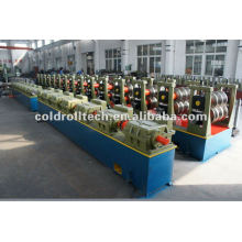 Highway Crash Barrier 3 wave guardrail roll forming machine