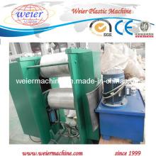 Máquina de gravação embutida de perfil de WPC composta de plástico de madeira quente