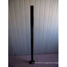 1300mm Long Aluminuim Pool Fencing Post with Flange