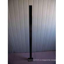 Длинной 1300мм Aluminuim бассейн Ограждая столб с фланцем