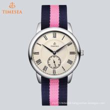 Fashion Ceramic Mechanical Women′s Watch Decorated by Rhinestones 71002