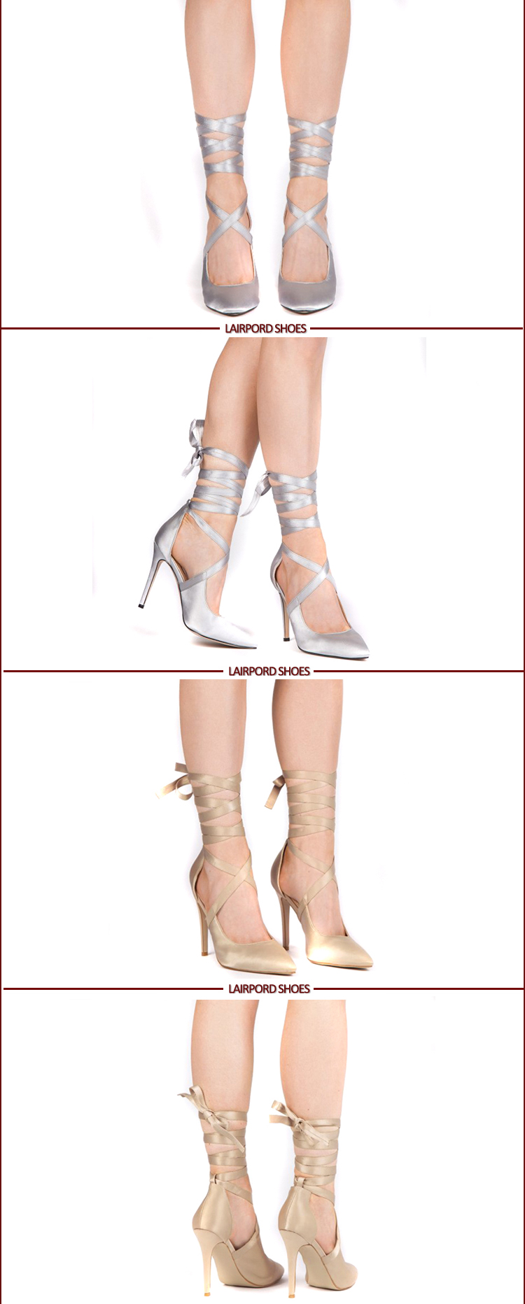 lace strap sexy women shoes
