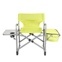 Wholesale outdoor folding chair for fishing/easy-carrying camping fishing chair with sun canopy