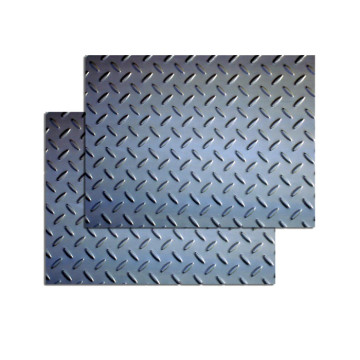 Bangunan kapal Hot Rolled Steel Checkered Plate