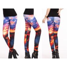 Pantalones de yoga único diseño exclusivo, polainas para mujer