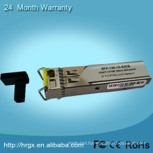 2 year warranted SFP Transceiver Module 1550nm sfp 80km