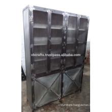Huge Industrial Metal Cabinet Vintage Design