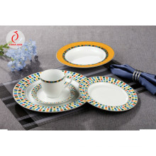 Royal Style Ceramic Dinner Plate