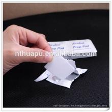 Almohadillas de alcohol médico no tejido 30x65mm