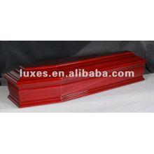 Cercueil en bois antique