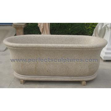 Stein Marmor Granit Badewanne für Badmöbel (QBN073)