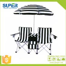 2015 cadeira de acampamento do amante com guarda-chuva (SP-117)
