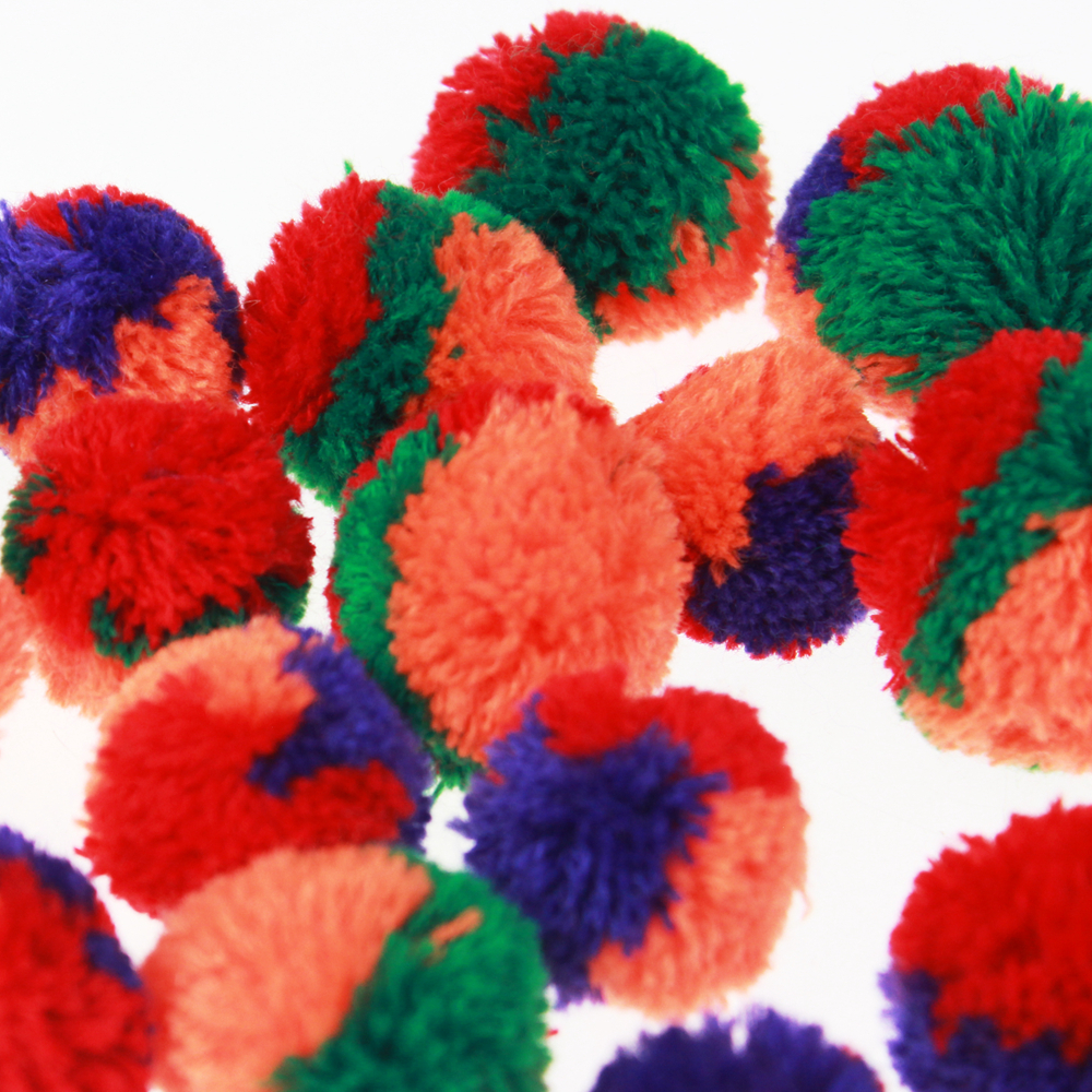 Multi-color Pom
