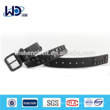 Mens Amarican popular PU strap metal belt