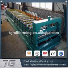 Machine à la machine en métal machine en tôle d'acier ondulé machine à fabriquer en tôle ondulée en aluminium