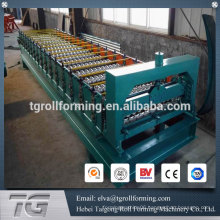 Advanced technology corrugated sheet making machine
